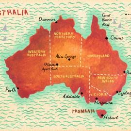 Australia Map