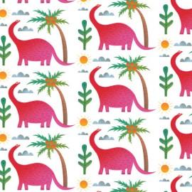 The pink dinosaur