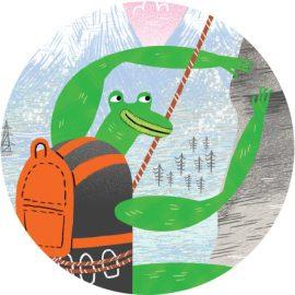 Frog climber